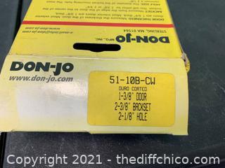 Don-Jo 51-10B-CW Oil Rubbed Bronze Door Wrap-Around (J34)
