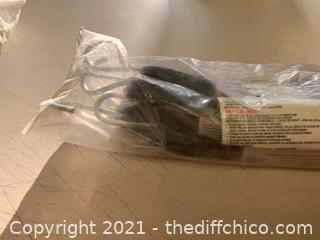 QTY 5 - National Hardware N263-087 3315 EPDM Rubber Straps (J62)