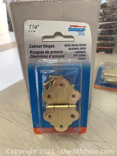 National Hardware N135-301 V485 Cabinet Hinges (J72)