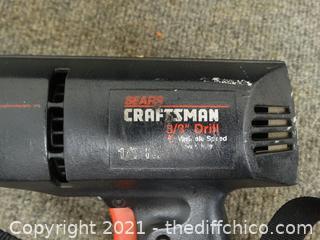 Sears Craftsman 3/8 Drill Works