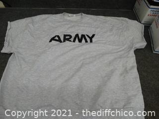 Army Shirt XXL