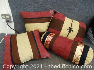 Decretive Bed Pillows
