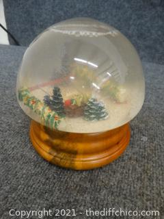Musical Christmas Snow Globe