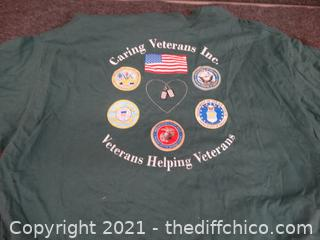Caring Vets Shirt 3x