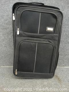 """Rolling Protege Black Suit case 22"""" x 14"""" x 7 """""""