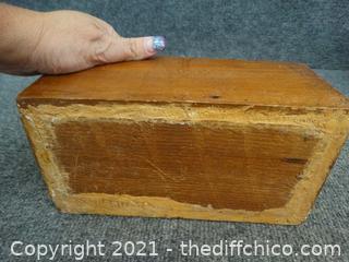 Wood Box No Lid