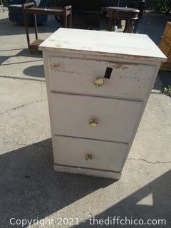 "3 Drawer Cabinet 30"" x 17 1/2"" x 13 1/2 """
