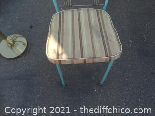 Teal Framed Chair