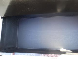 """Black Hall Tree With Bench/ Storage 58 1/4"""" x 42 1/2"""" x 19 """""""