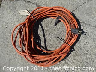 60 ft Orange ext cord