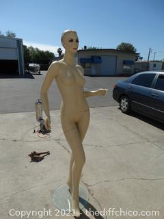 """5' 10 """" Mannequin with Stand"""