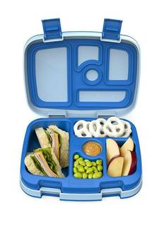 Bentgo Kids Childrens Lunch Box Bento-Styled Lunch Durable and Leak Proof Blue