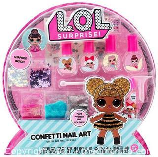 L.O.L. Surprise Confetti Nail Art Surprise Make Mystery Nail Polishes
