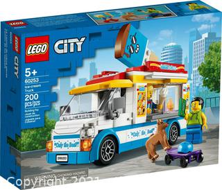 LEGO City Ice-Cream Truck 60253 Building Kit Playset 200 Pieces