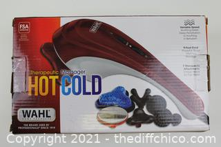 Wahl Electric Massager Hot and Cold Therapy Full Body Pain Relief Relaxation