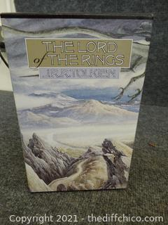 The Lord Of The Rings 3 Book Set