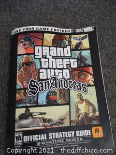 Grand Theft Auto San Andreas  Book