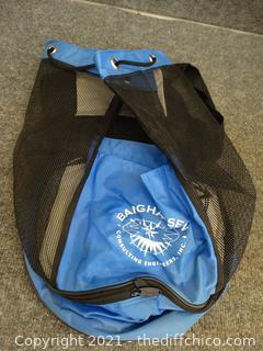 Blue / Black Backpack  Bag