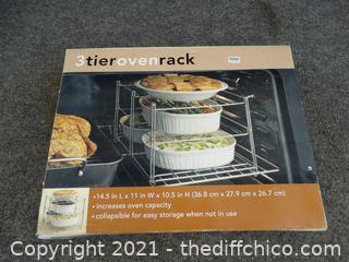 New 3 Tier Oven Rack