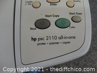 HP Printer, PCS 2110  All In One