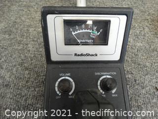 Radio Shack Metal Detector WKS