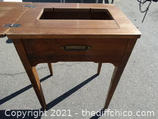 """Sewing Table  31"""" x 23 3/4"""" x 18 1/4"""""""