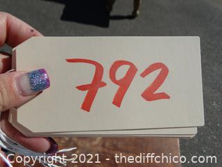 "Decretive Table  22 1/2"" X 23 3/4"" X 23"