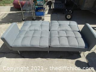 """Fold UP Futon / Couch  23 1/2"""" X 44 """" 79"""""""