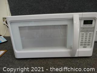 Hamilton Beach Microwave wks
