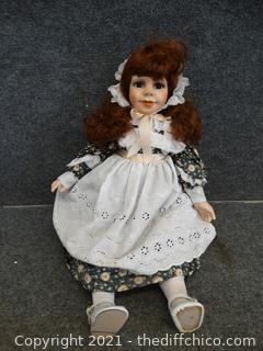 "Porcelain Doll 23"""