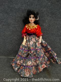 "Porcelain Doll 20"""