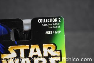 Collectible NIB Star Wars Character