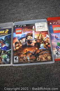 3 - PS3 Lego Playstation Games