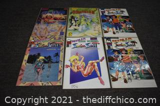 6 Animated Comic Books