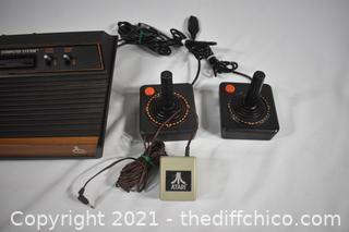 Arari Video Computer System plus joy sticks