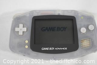 Nintendo Gameboy Advance plus game