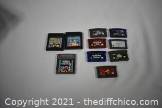 Gameboy Games and More