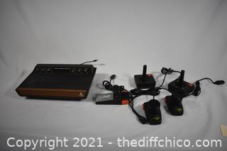 Arari Video Computer System plus joy sticks and more