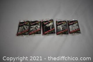 5Pkg NIB Babe Ruth Collectible Cards