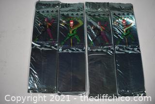 4pkg NIB Batman Metal Forever Collectible Cards