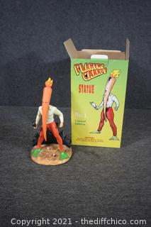 Limited Edition 36/835 Flaming Carrot Statue No.1