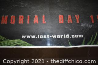The Lost World Jurassic Park Movie Poster
