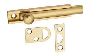 National Hardware N197-970 Flush Bolt, Solid Brass - 3 Packs (J24)