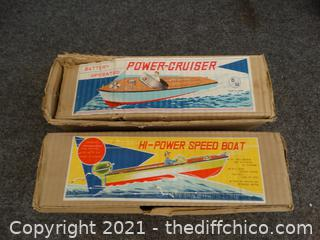 Toy Wood Boats