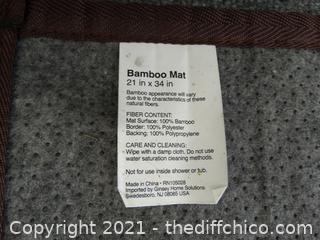 """Bamboo Mat 21"""" X 34"""""""