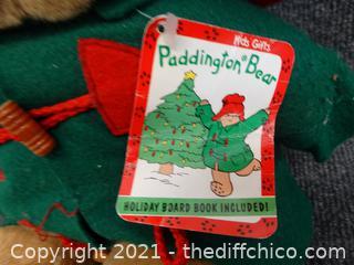 Paddington Bear with Tags