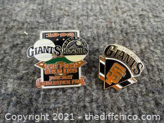 San Francisco Giants Pins