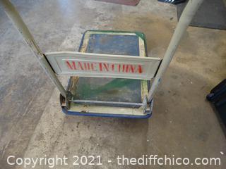"Rolling Utility Cart 42"" X 29"" X 19"""