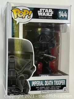 Funko Pop Star Wars 144 - Imperial Death Trooper Pop Vinyl