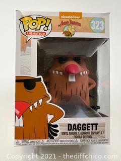 Funko Pop! Animation 323 Nickelodeon The Angry Beavers - Dagget vinyl figure